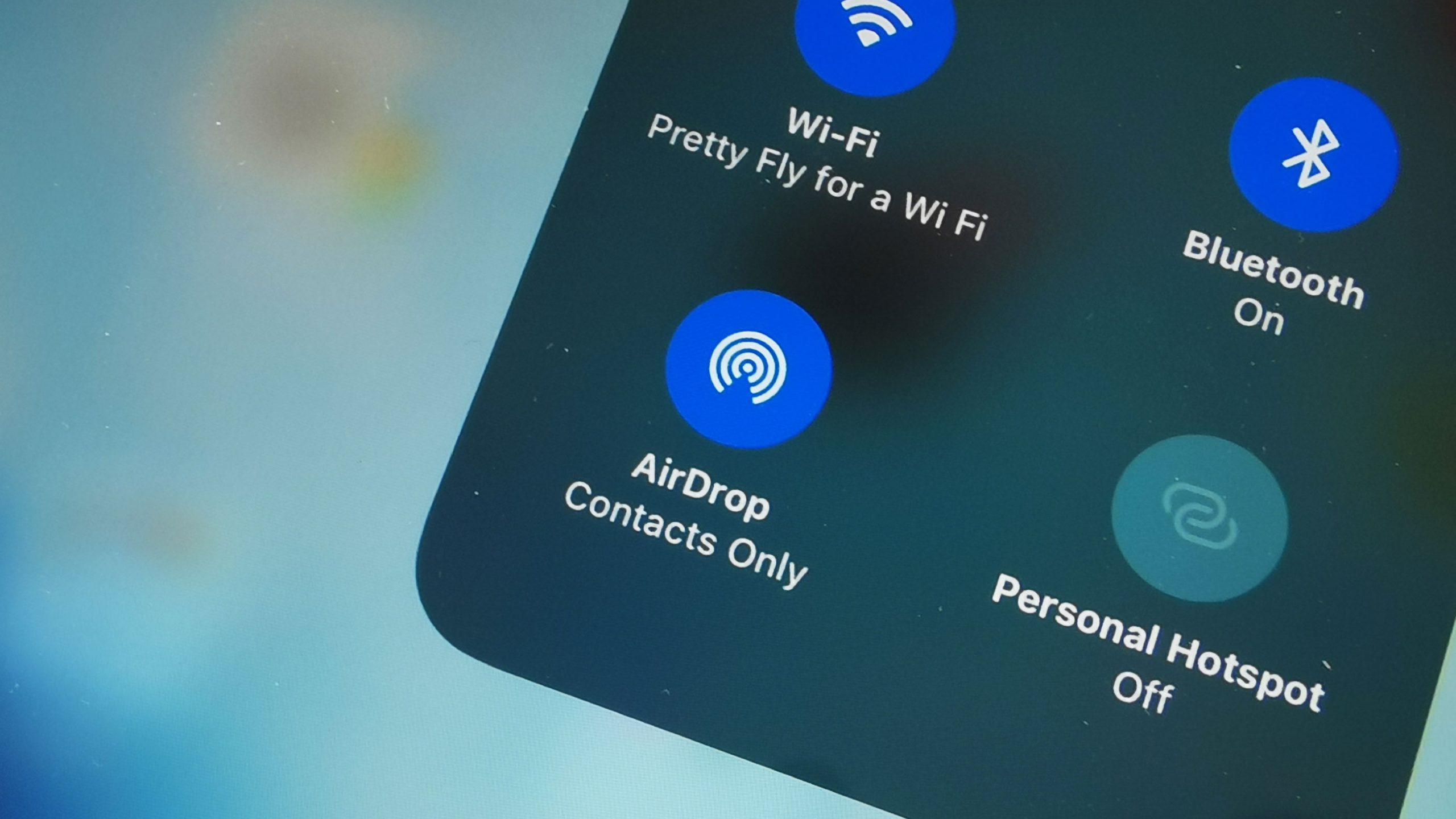 AirDrop no iPhone