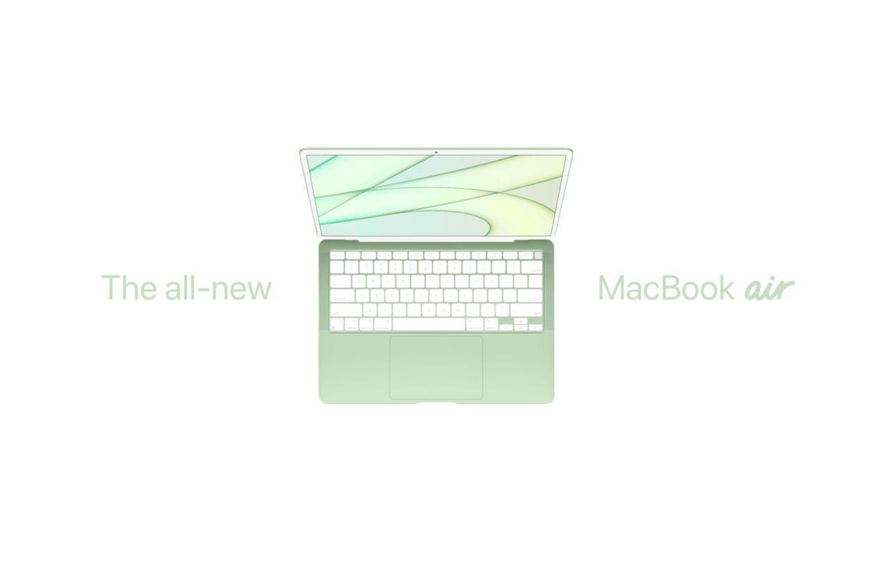 Conceito de MacBook Air