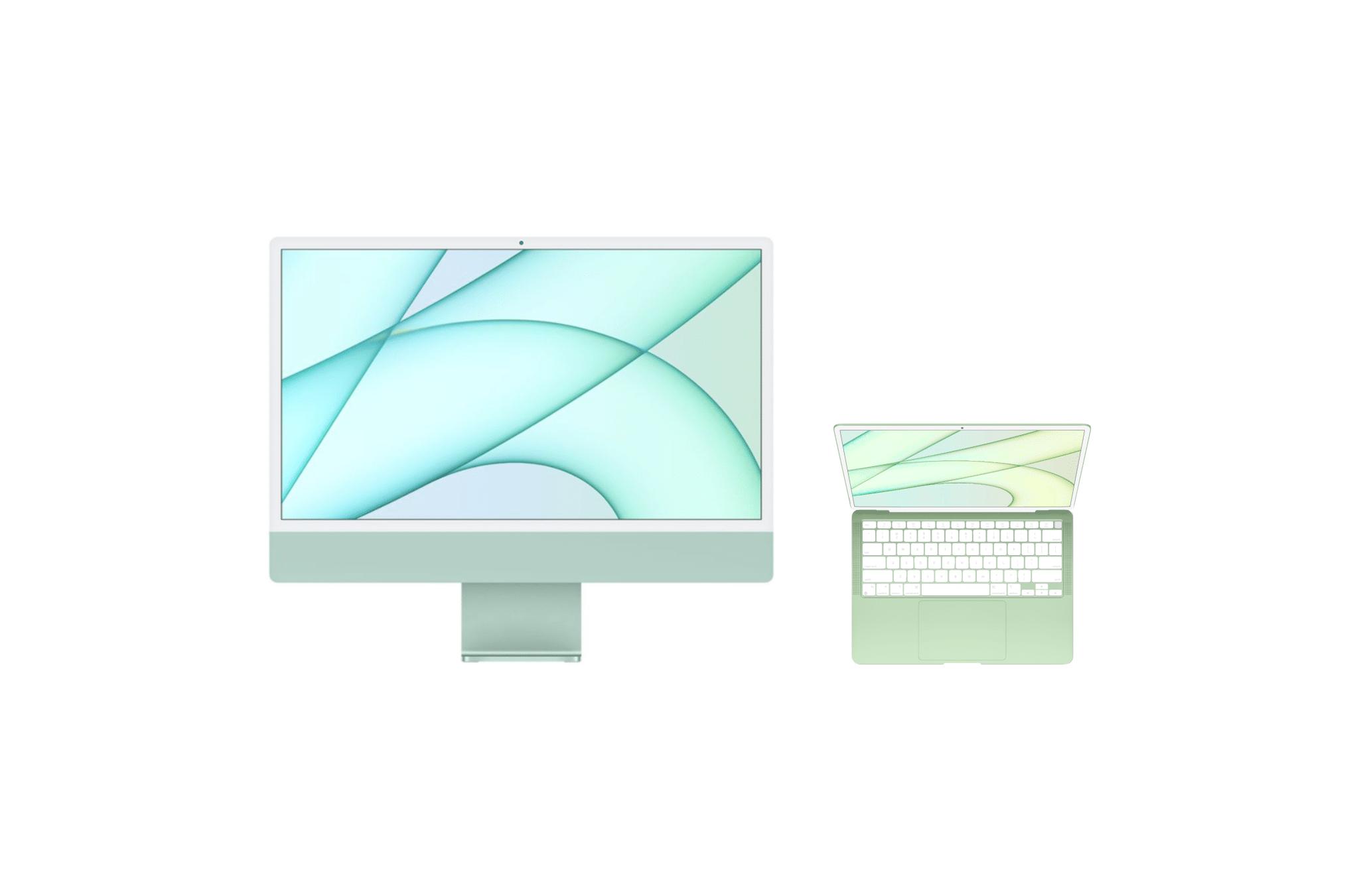 Conceito de MacBook Air inspirado no novo iMac