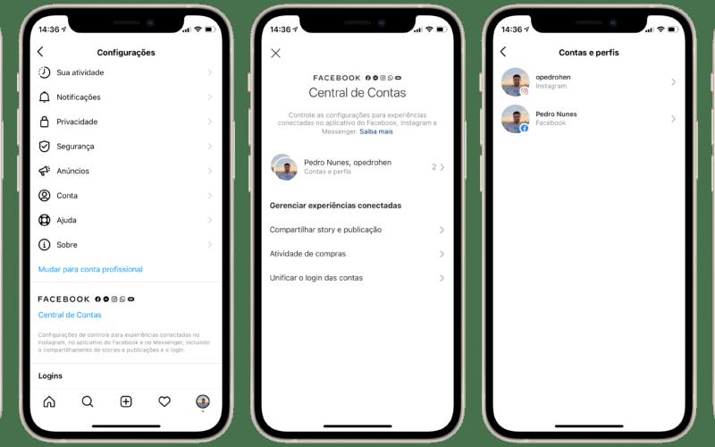 Desativando a integração do Facebook Messenger e Instagram