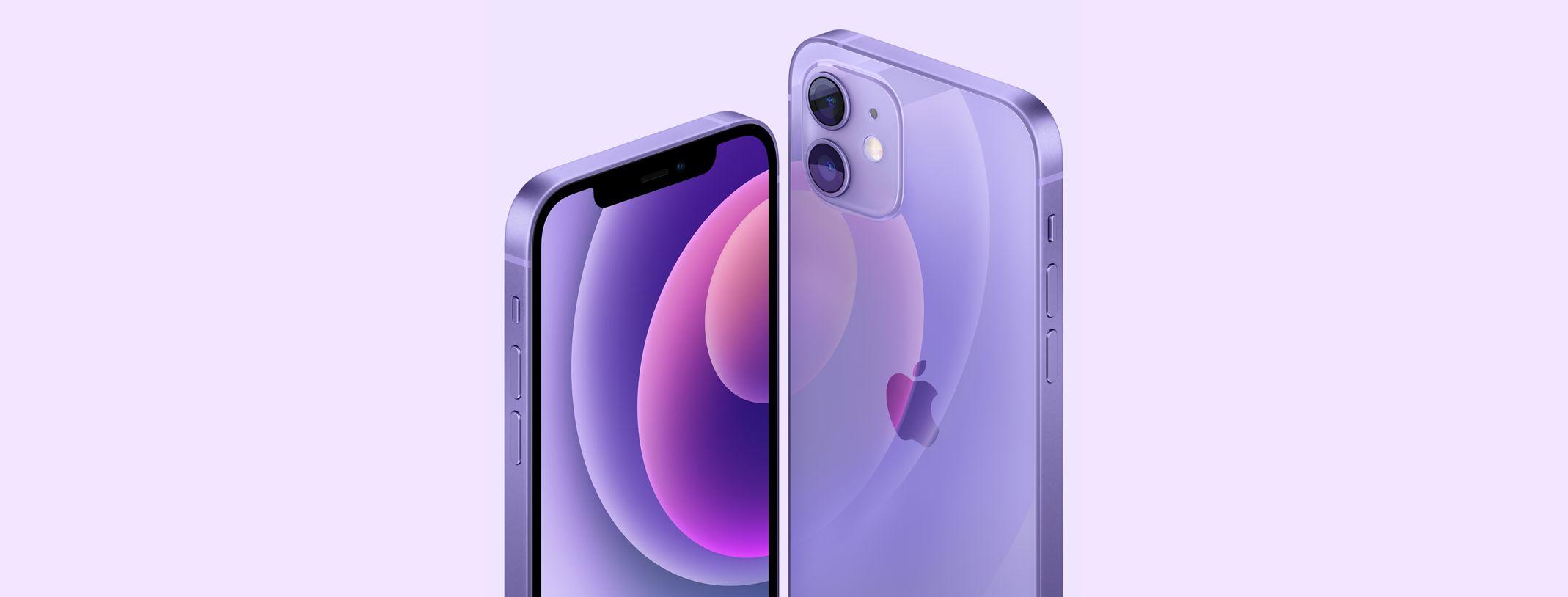 iPhone 12 roxo