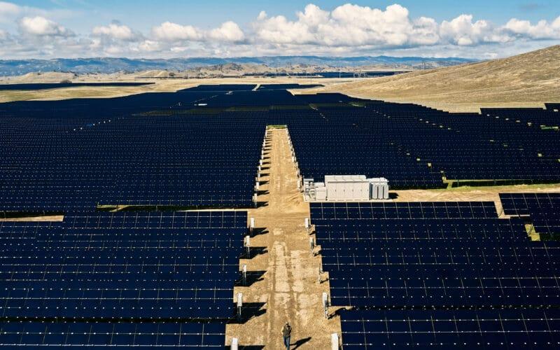 Parque solar nos EUA