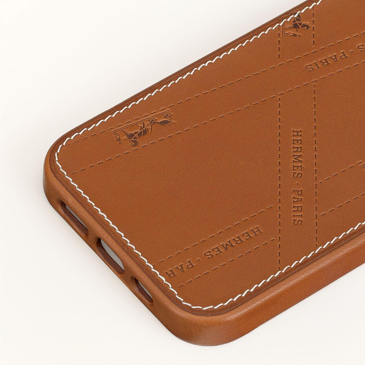 Case da Hermès para iPhones 12 e 12 Pro