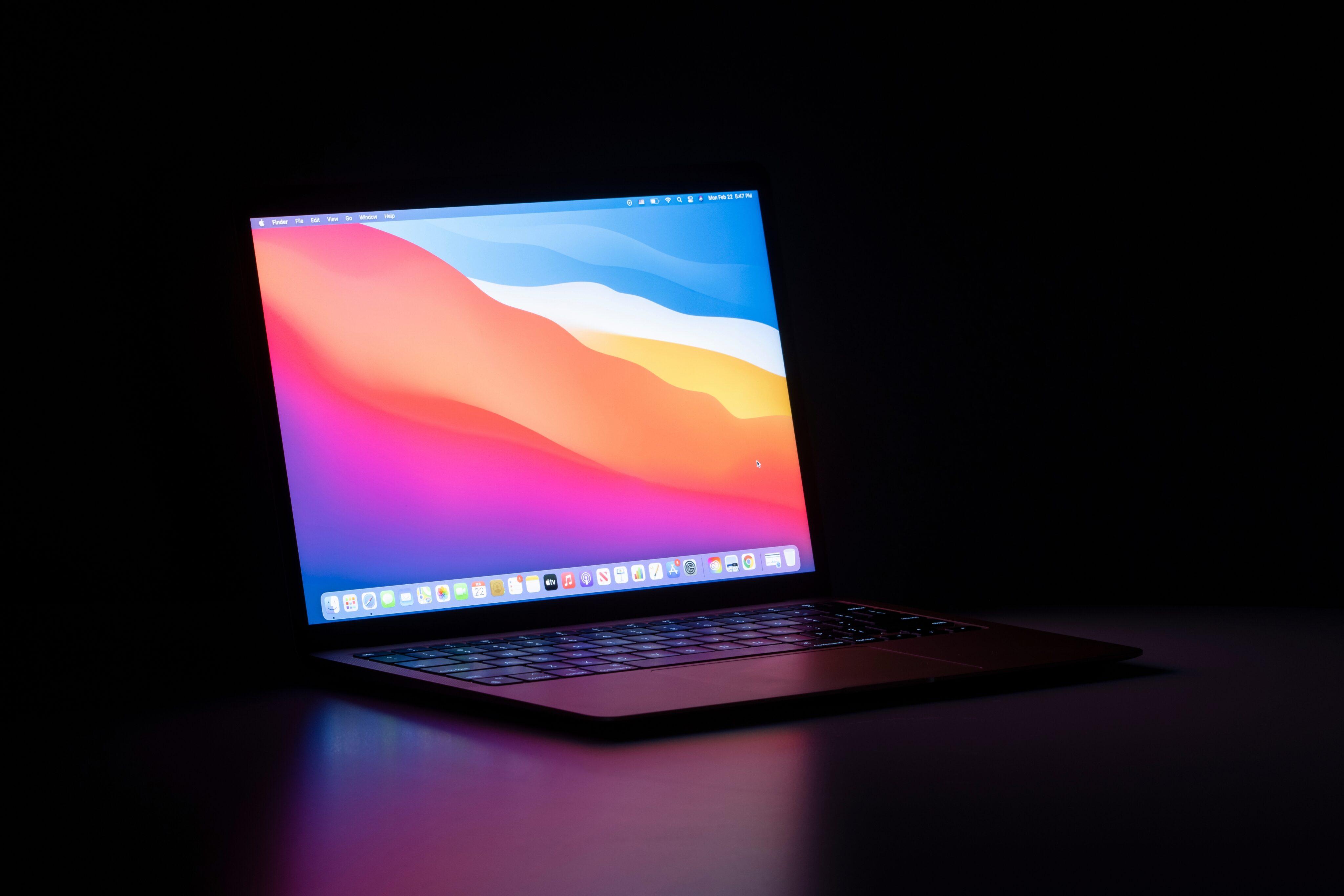 MacBook Air M1 rodando o macOS Big Sur