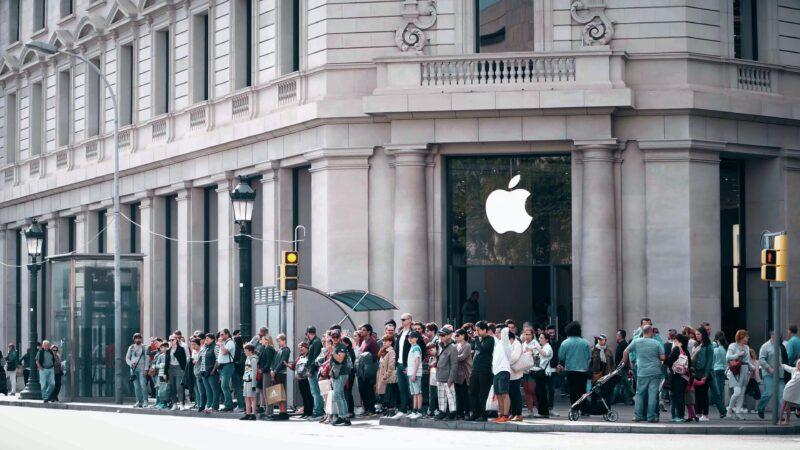 Apple Store em Barcelona, na Espanha