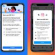 Tela de privacidade do Facebook no iOS 14.5