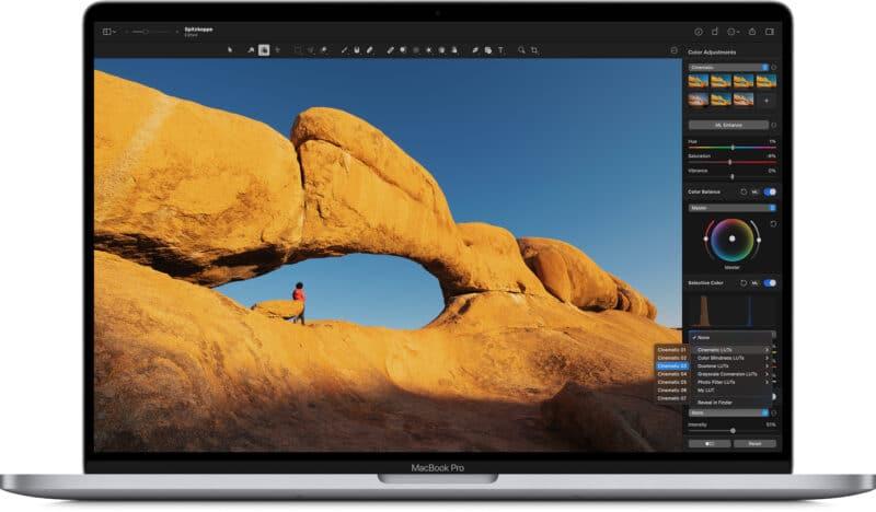 Pixelmator Pro 2.0.8 com suporte a arquivos LUT