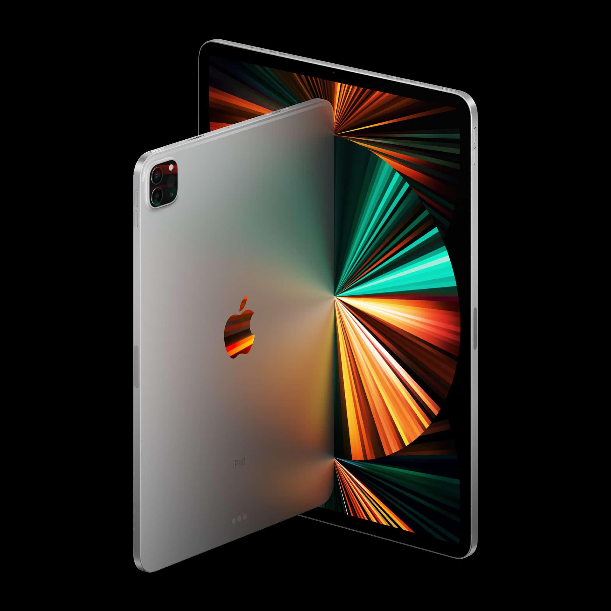 iPads Pro na diagonal
