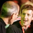 Mark Zuckerberg e Steve Jobs