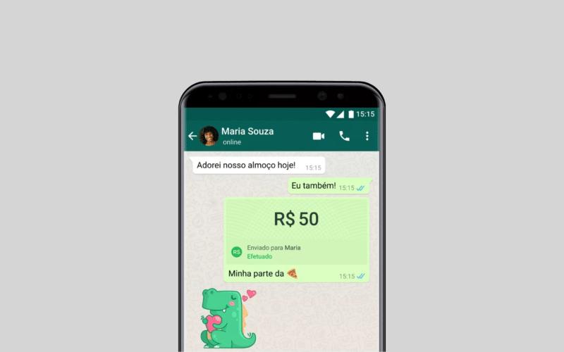 Pagamentos no WhatsApp