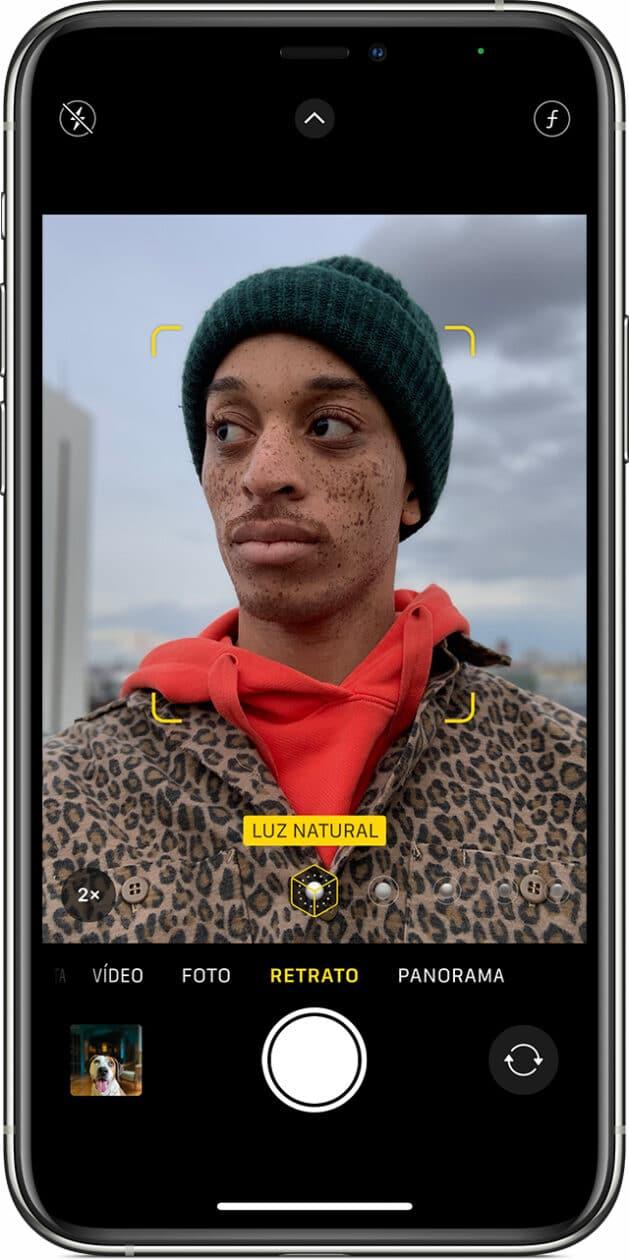 modo Retrato no iPhone