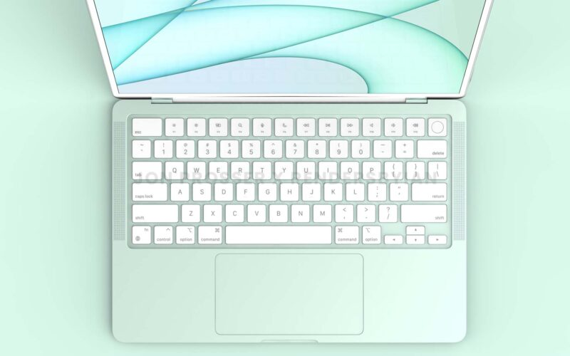 Render do futuro MacBook Air