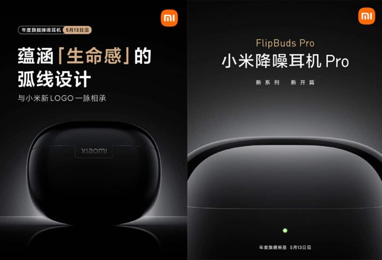 Fones de ouvido sem fio Mi FlipBuds Pro, da Xiaomi