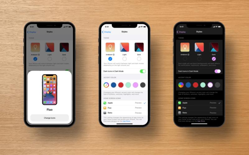 Conceito para o iOS 15