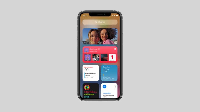 Widget de fotos no iOS 14