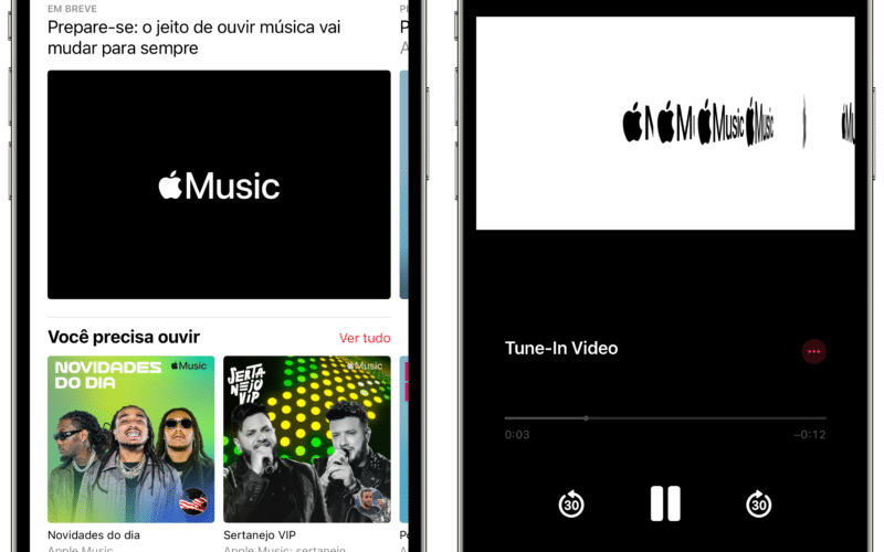 Teaser de grande novidade no Apple Music