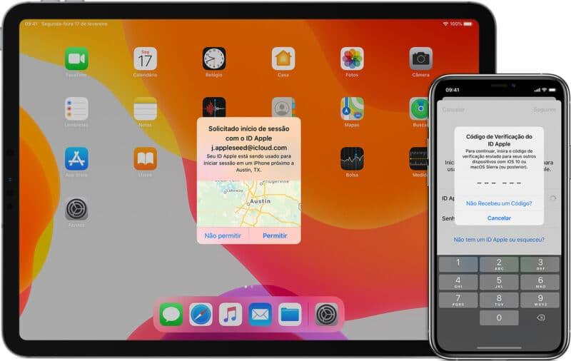 Autenticação de dois fatores da Apple