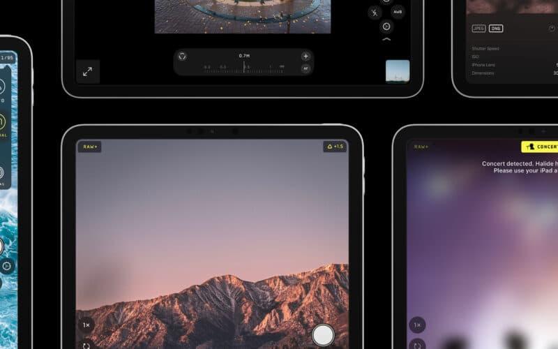 Halide para iPads