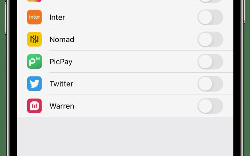 Rastreamento de aplicativos no iOS 14.5