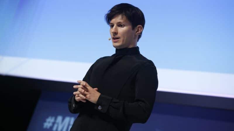 Pavel Durov, fundador do Telegram