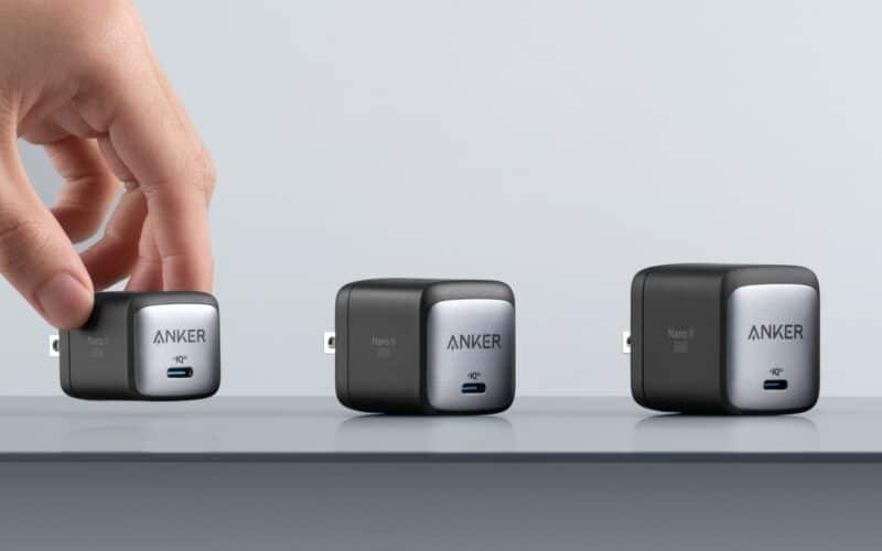 Carregadores GaN Nano II da Anker