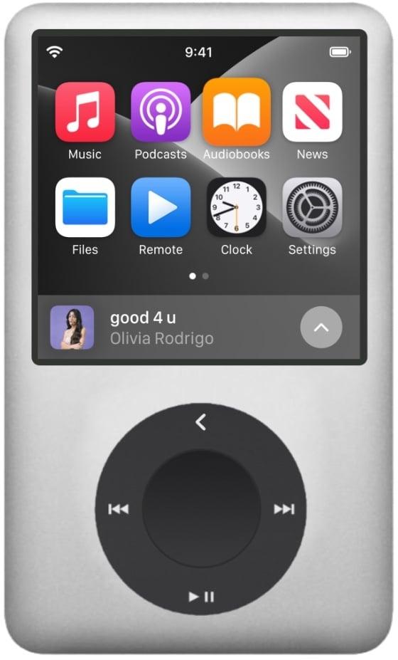 """Conceito: """"iPod Max"""""""