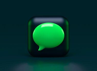 Ícone do iMessage estilizado
