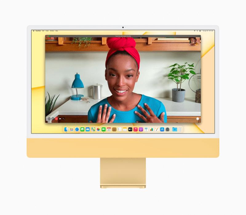 """Câmera do iMac de 24"""""""