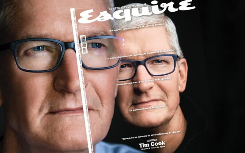 Tim Cook na Esquire