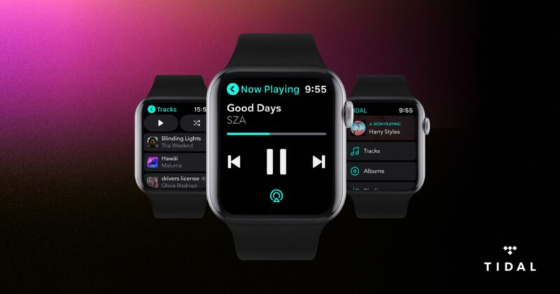 TIDAL no Apple Watch