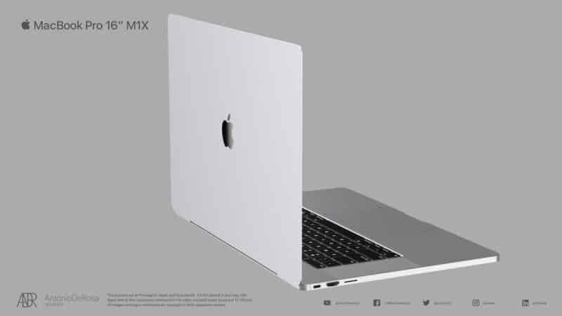 Conceito de futuro MacBook Pro, por Antonio de Rosa