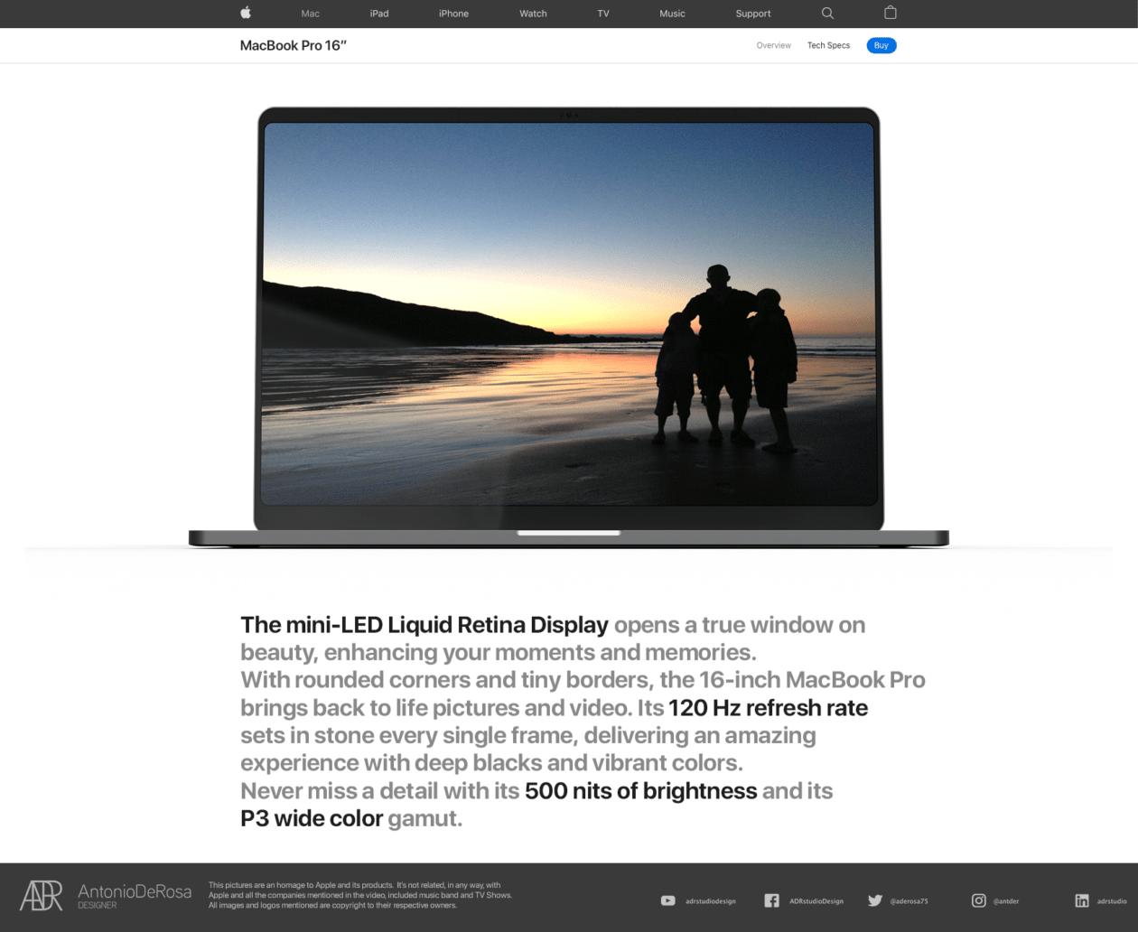 Conceito de MacBook Pro