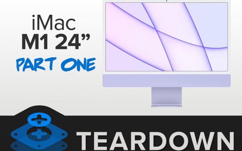 iFixit: desmonte do novo iMac