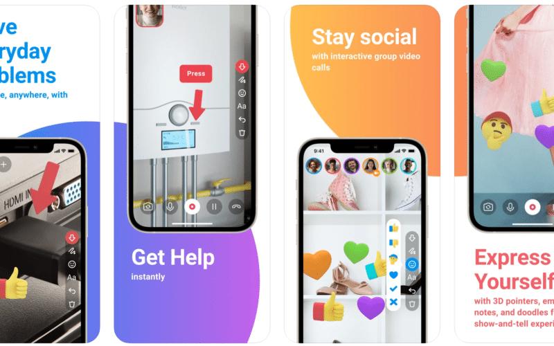 lifeAR, aplicativo de comunicação em realidade aumentada