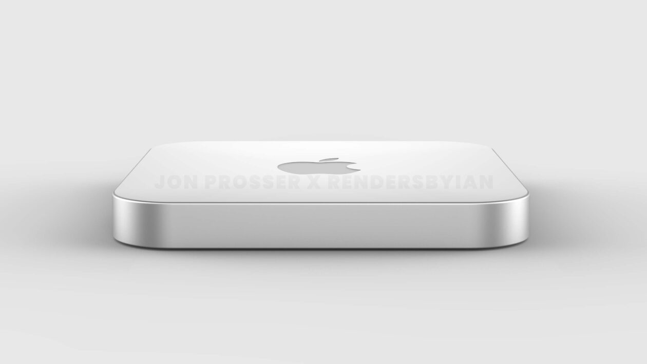 Renders do futuro Mac mini