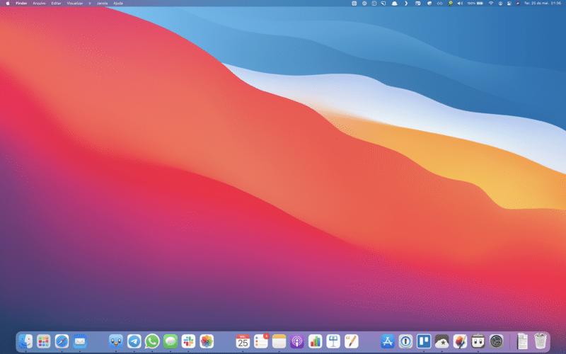 Organizando o Dock do macOS
