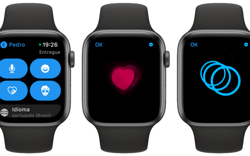 Digital Touch no Apple Watch