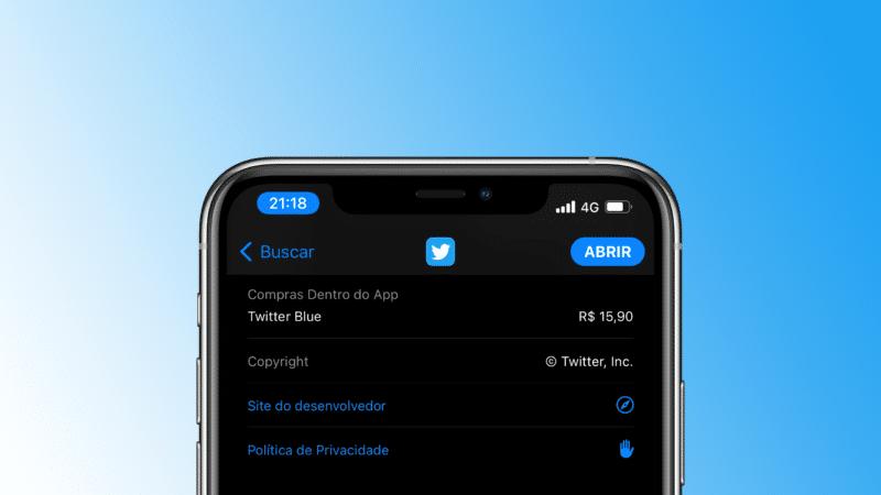 Preço do Twitter Blue