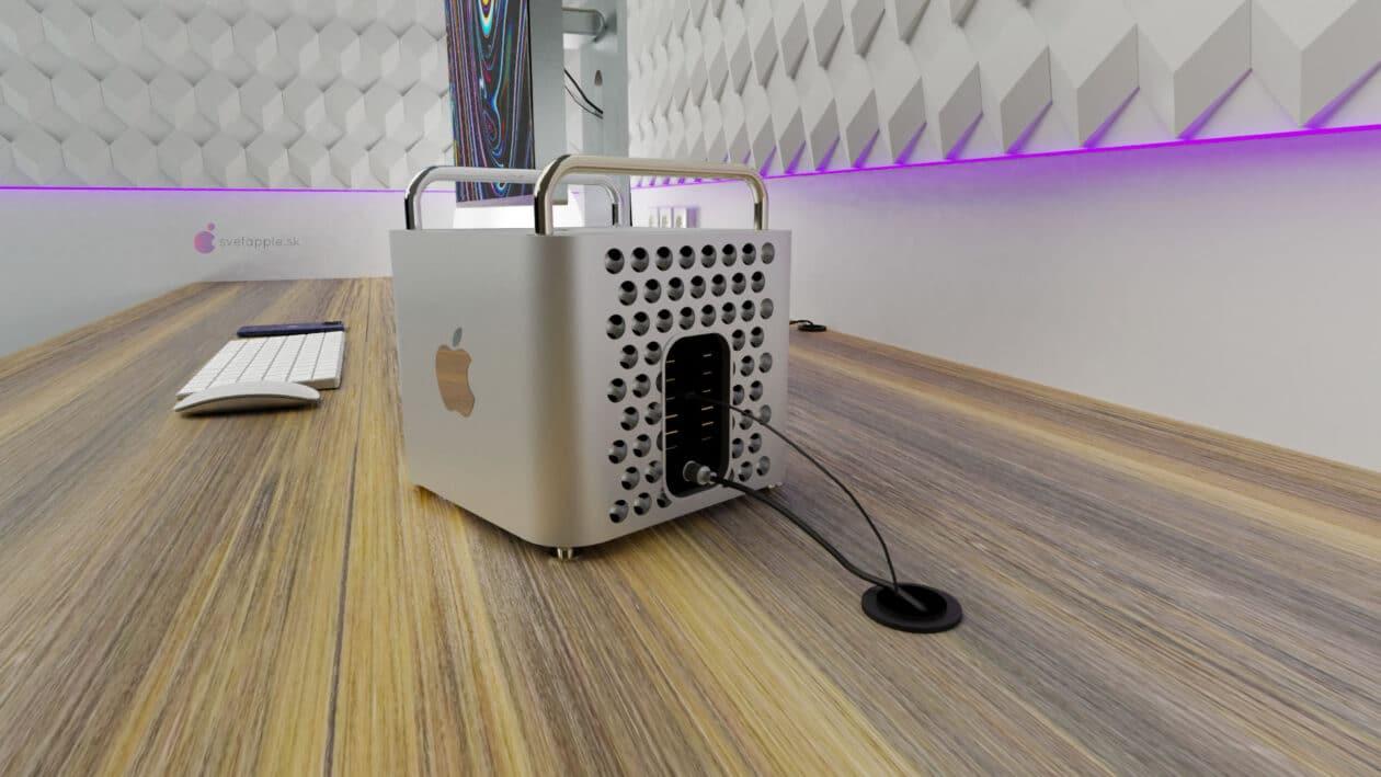 """Conceito de """"Mac Pro mini"""""""