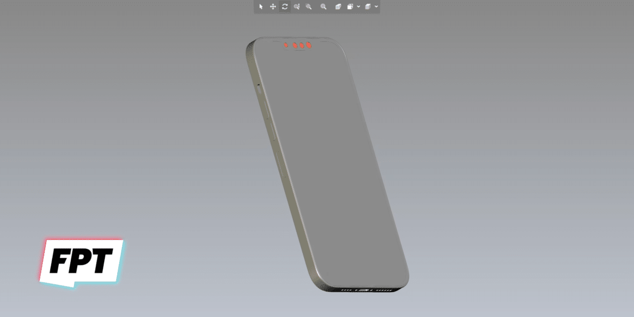 """CAD do """"iPhone 13"""""""