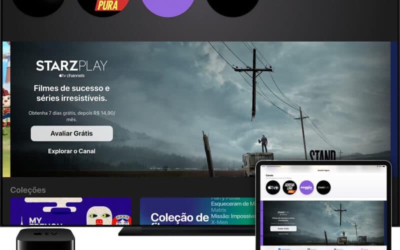 Canais da Apple TV