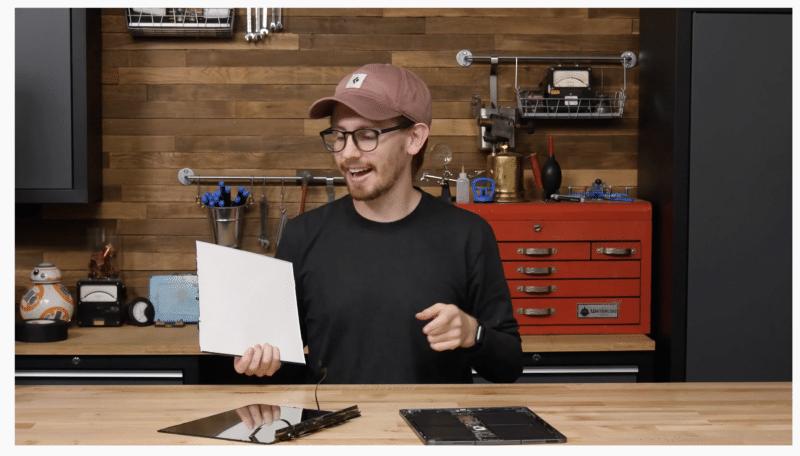 Desmonte do novo iPad Pro