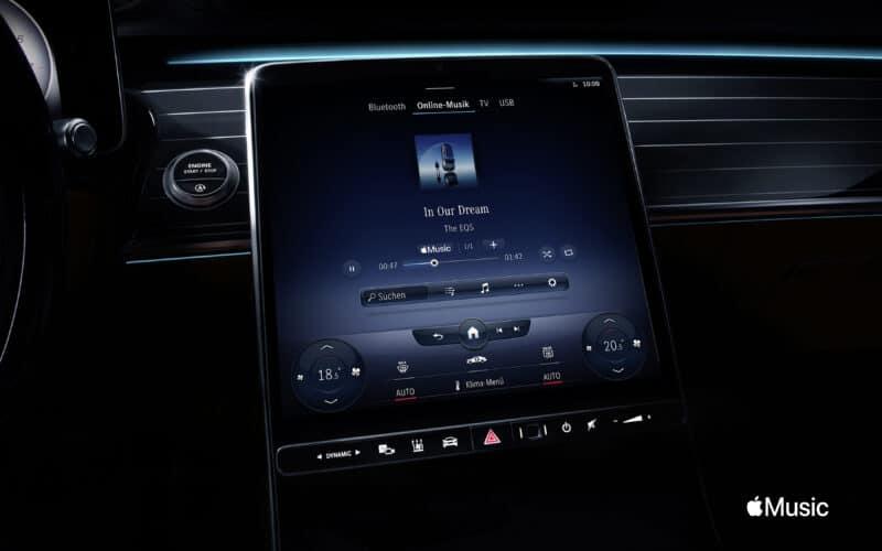Apple Music na Mercedes-Benz