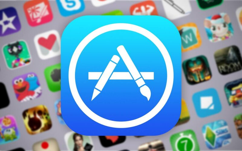 Apps sob logo da App Store