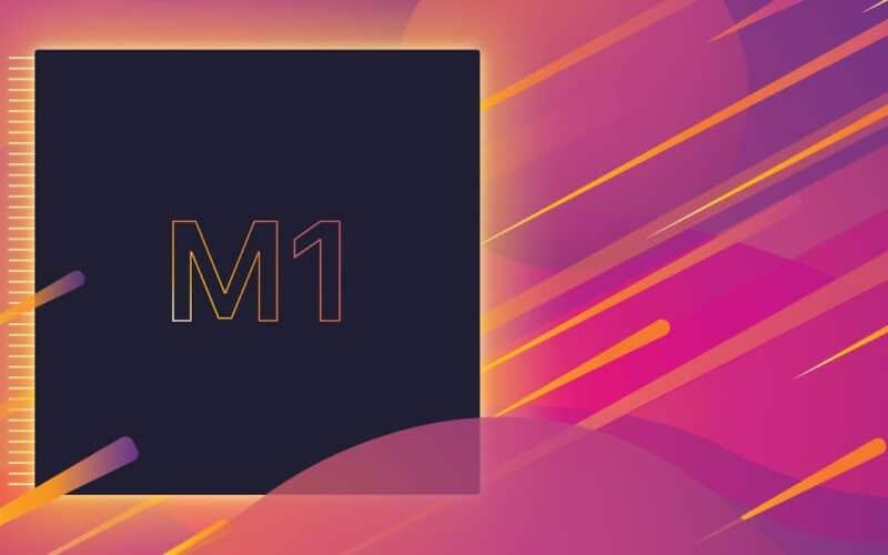 Ilustração do chip M1