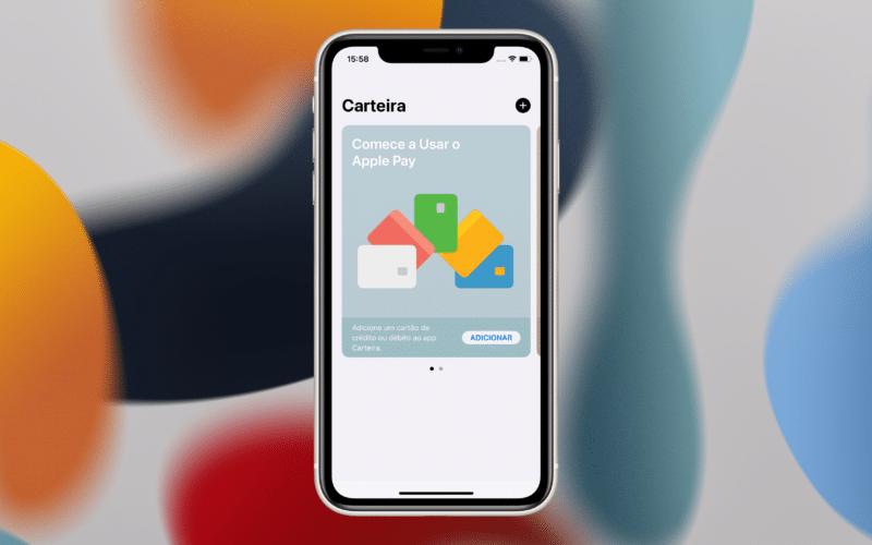 App Carteira no iOS 15