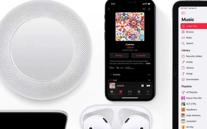 Lossless e Áudio Espacial no Apple Music