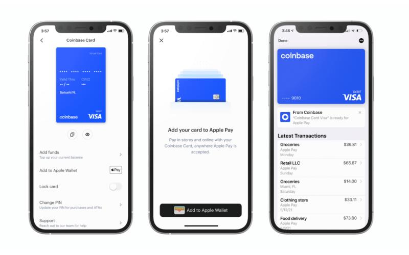 Coinbase e Apple Pay