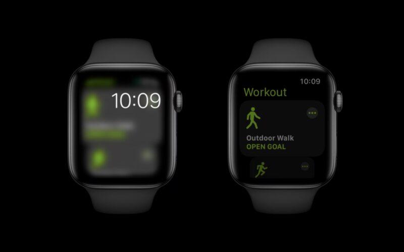 Mudança na forma que o Always-On do Apple Watch funciona no watchOS 8