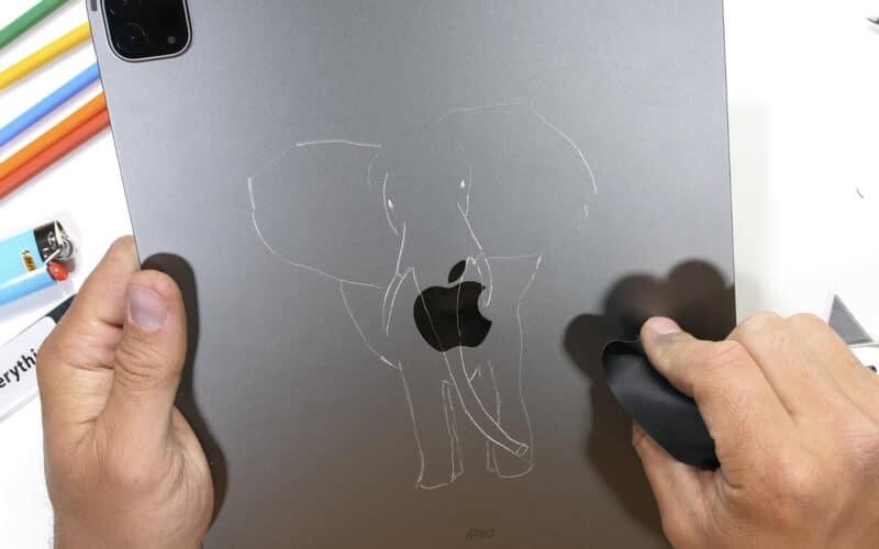 Teste de resistência do novo iPad Pro com M1 realizado pelo YouTuber Zack Nelson